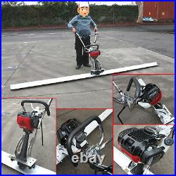 12ft Blade Board Gas Power Vibrating Concrete Power Screed Finishing Float Tool