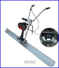 4 Stroke Concrete Gas Power Vibrating Screed Edge Tools with 6.5' Board