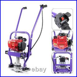 4 Stroke Gas Wet Concrete Power Vibrating Screed Gas Engine Cement Leveling USA