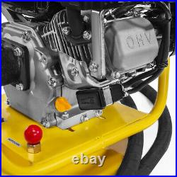6.5HP Gas-Powered Concrete Vibrator 1.5 inch x 18' ft with Flexible Vibrate Poker