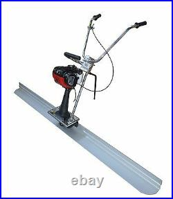 6.5ft Board Concrete Power Vibrating Screed 4 stroke Gas Engine Cement EPA