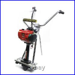 All stainless steel 35.8CC concrete power screed 4 stroke gas cement vibrating