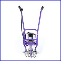 GX35 4Stroke Gas Concrete Wet Screed Power Screed Cement WithVibration Isolators