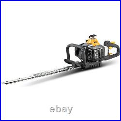 Hedge Trimmer Powerful 2 Cycle Gas Lightweight Rotating Handle Anti Vibration