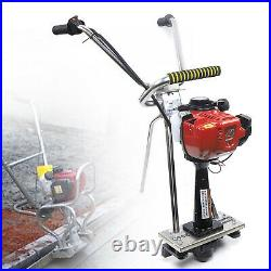 NEW stainless steel 35.8CC concrete power screed 4 stroke gas cement vibrating