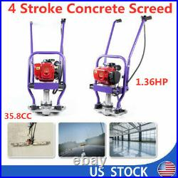 Sale 4 Stroke Gas Concrete Wet Screed Power Vibrating Screed Cement 7000rpm